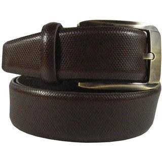 Silverbull Brown Formal Leather Belt
