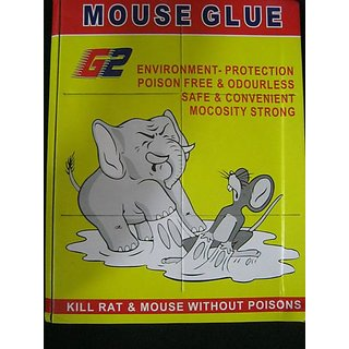 Set of 10 - Kudos Mouse Insect Rodent Lizard Trap Rat Catcher Adhesive Sticky Glue Pad