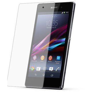 Shree Retail Screen Protector Tempered Glass For Sony Xperia C