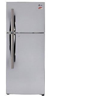 LG GL I292RPZL 260 Litres Double Door Frost Free Refrigerator  Silver  Refrigerators