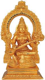Saraswathi With Arch