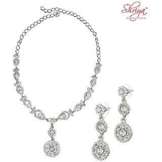 Shriya Circular Pendant Necklace Set -7