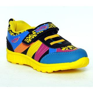 Buy Liberty Footfun Blue Velcro Sports