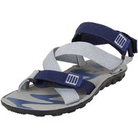 Earton Men's Grey  Blue Sandals  Floaters
