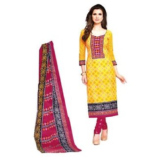 Anarkali Dress Material With Heavy Embroidery