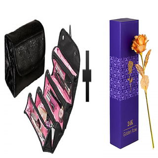 s4d Roll N Go 4 in 1 Travel  kit and gold rose