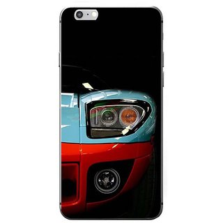 Fuson Designer Phone Back Case Cover Apple IPhone 7 ( Headlights Of The Car )