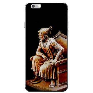 Fuson Designer Phone Back Case Cover Apple IPhone 7 ( Chatrapati Shivaji On His Throne )