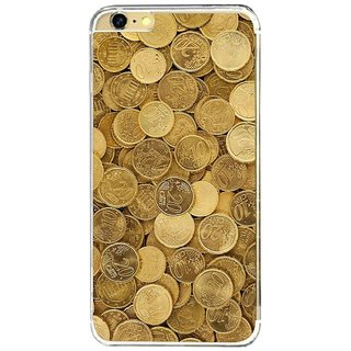 Fuson Designer Phone Back Case Cover Apple IPhone 6S ( Pile Of Gold Coins )