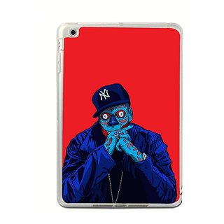 Fuson Designer Phone Back Case Cover Apple IPad Mini 4 ( Man In The Negative )