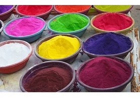 IMSTAR Herbal Holi Gulal (Combo of 6 colors)