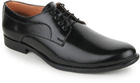 Funku Fashion Men Black Lace-up Formal Shoes