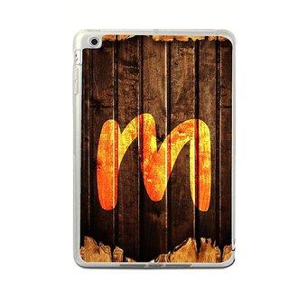 Fuson Designer Phone Back Case Cover Apple IPad Mini 4 ( Magestic Looking Letter M )