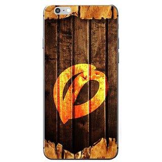 Fuson Designer Phone Back Case Cover Apple IPhone 7 ( Twisted Letter O On Wood )