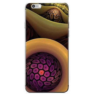 Fuson Designer Phone Back Case Cover Apple IPhone 7 ( Twisted Hexagons In A Line )
