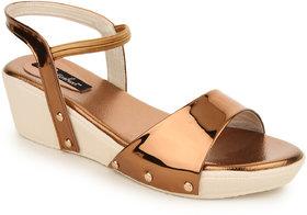 Funku Fashion Women's Brown Sandals