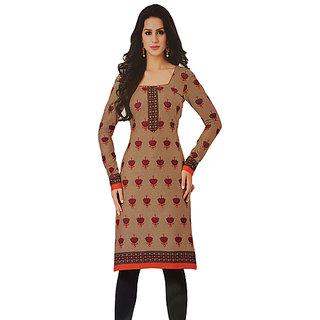 Pari Cotton Women's Vibrant Unstitched Multi colour Kurti Fabric
