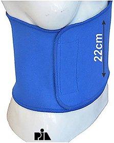 Pia International 22cm MEDIUM UNISEX NEOPRENE Slimming Belt (BLUE)