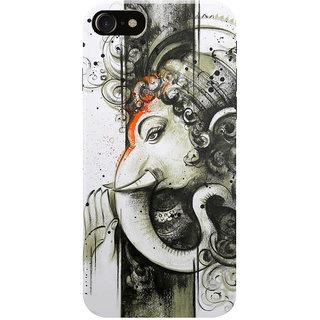 HACHI Ganpati Ji Mobile Cover for Apple iPhone 7