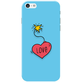 HACHI Cool Case Mobile Cover for Apple iPhone 5C