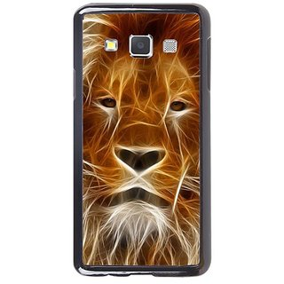 Fuson Designer Phone Back Case Cover Samsung Galaxy A7 ( Graphically Printed Lion Face )