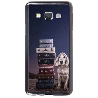 Fuson Designer Phone Back Case Cover Samsung Galaxy A5 ( The Dog With The Bags )