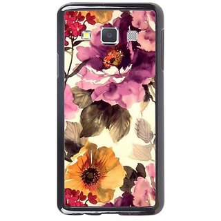 Fuson Designer Phone Back Case Cover Samsung Galaxy A5 ( Flowers In A Painting )