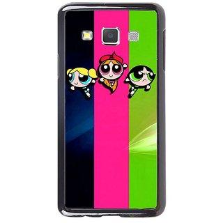 Fuson Designer Phone Back Case Cover Samsung Galaxy A7 ( The Powerpuff Girls )