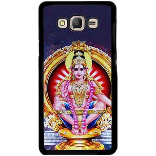 Fuson Designer Phone Back Case Cover Samsung Galaxy E5 ( Lord Ayyappa With Ornaments )