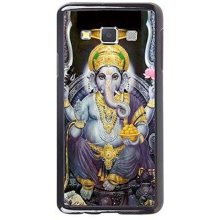 Fuson Designer Phone Back Case Cover Samsung Galaxy A7 ( Grand Looking Lord Ganesha )