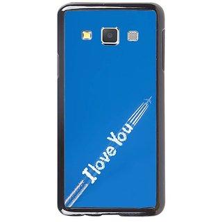 Fuson Designer Phone Back Case Cover Samsung Galaxy A5 ( Tracing Back My Love )