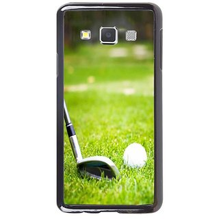 Fuson Designer Phone Back Case Cover Samsung Galaxy A5 ( A Golfer In Action )