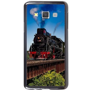 Fuson Designer Phone Back Case Cover Samsung Galaxy A5 ( Amazing Illustration Of A Train )