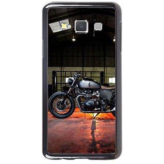 Fuson Designer Phone Back Case Cover Samsung Galaxy A5 ( Bike On Display )