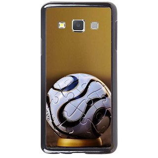 Fuson Designer Phone Back Case Cover Samsung Galaxy A7 ( A Puzzled Up Football )