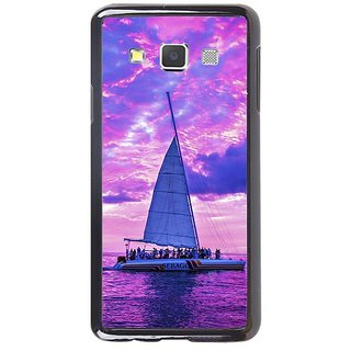 Fuson Designer Phone Back Case Cover Samsung Galaxy A7 ( Party On The Yacht )