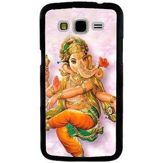 Fuson Designer Phone Back Case Cover Samsung Galaxy J5 ( Dancing Lord Ganesha )