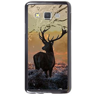 Fuson Designer Phone Back Case Cover Samsung Galaxy A7 ( Swamp Deer With Beautiful Background )