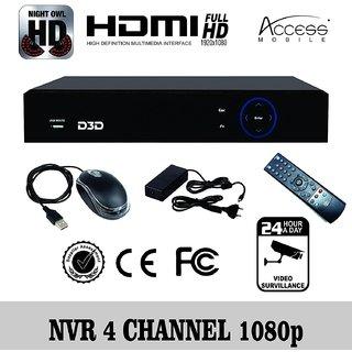 Buy D3D 4CH 1080P H 264 P2P POE NVR Network Video Recorder Phone APP