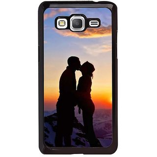 Fuson Designer Phone Back Case Cover Samsung Galaxy Core Prime ( Kiss Of Love Atop The Mountain )