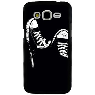 Fuson Designer Phone Back Case Cover Samsung Galaxy J5 ( A Pair Of Canvas Shoes )