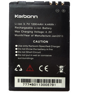 Li Ion Polymer Replacement Battery for Karbonn Titanium S1