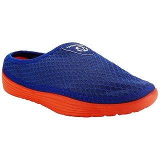 Vostro Gold Men-Royal Blue Orange Casual Shoes For Men