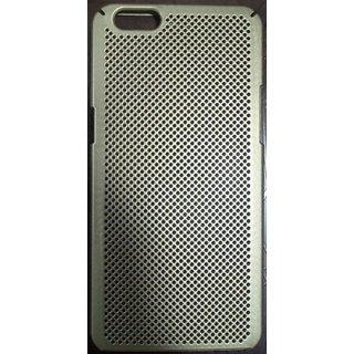 Kanishka Mobiles Gold Colour Back Case for Oppo A57