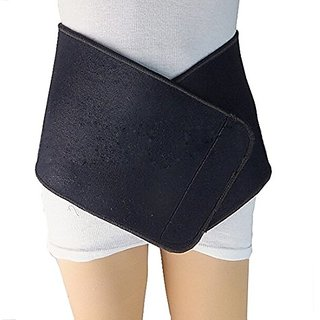 Waist Trimmer Belt Slimmer Belt and Sweat Belt - Natuworld Adjustable Velcro Closure Neoprene and Stretchy Fabric Abs W