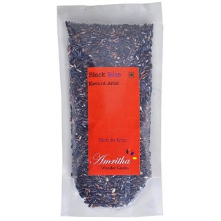Polished Aromatic Black Rice From Agri India