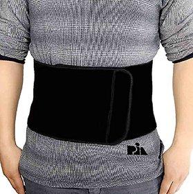 Pia International Unisex Magnetic Neoprene Slimming Belt (Black)