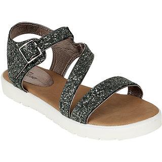 Flora Women's Gray Sandals