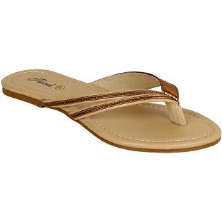 a6dd32e7423 Buy Flora Women s Brown Flats Online - Get 38% Off