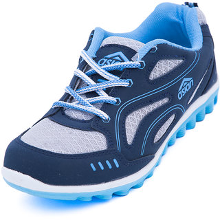 Asian Women's Navy & Sky Blue Sports Shoes